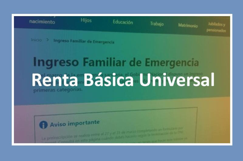 Renta Basica Universal, termina IFE,
