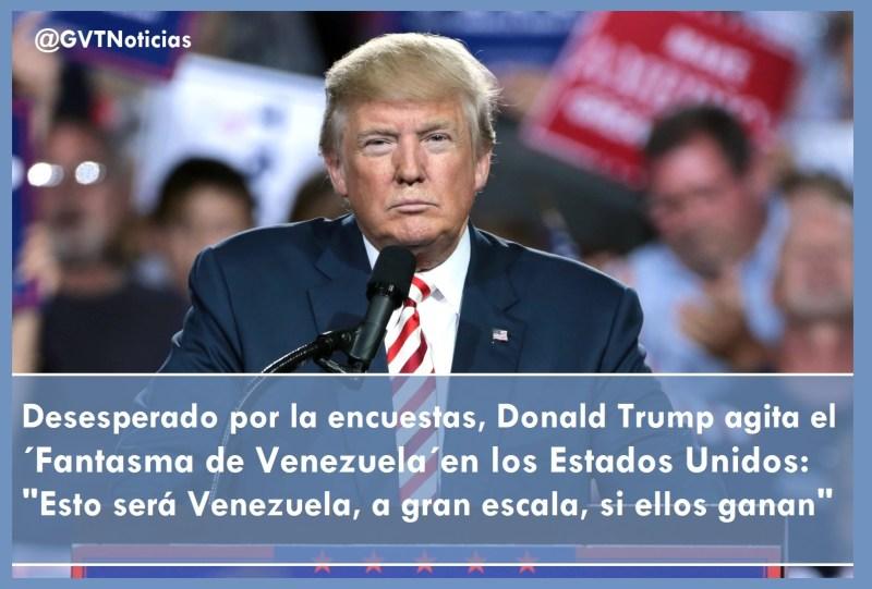 Trump Fantasma de Venezuela