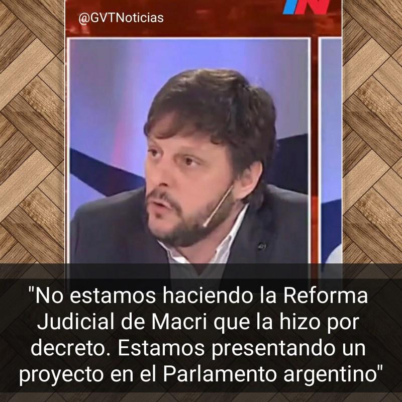 Leandro Santoro Reforma Judicial