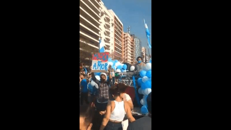 Córdoba fiesta electrónica durante el banderazo