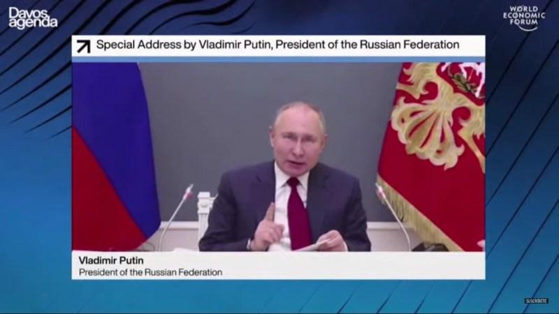 Putin criticó Gran Reseteo