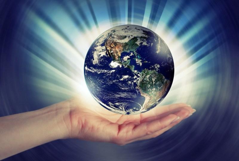 Planeta tierra, manos, pixabay