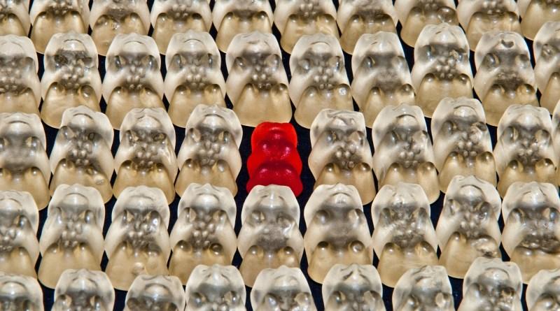 individualismo, grieta, gummibarchen