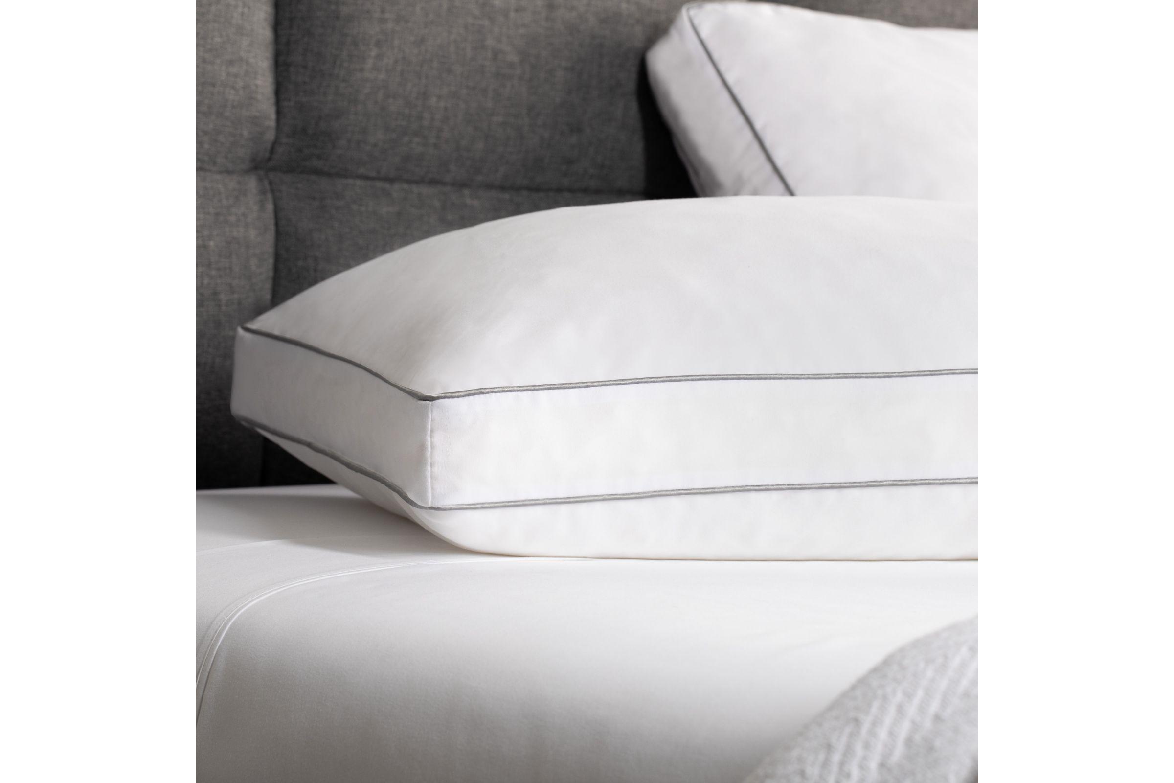 weekender shredded memory foam pillow 2 pack queen