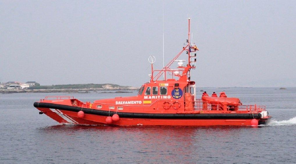 L'un des 13 bateaux de sauvetage de la Salvamento Maritimo | Photo : Sasemar/Twitter