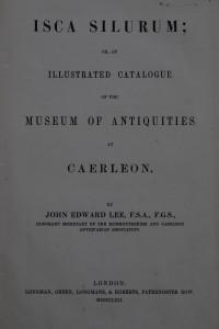 JE Lee, 'Isca Silurum' (1862)