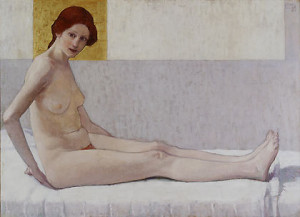 Broncia Koller, Nude portrait of Marietta (1907)