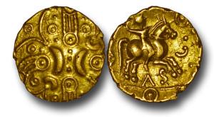 Gold stater of Tasciovanus
