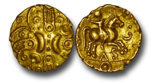 Gold stater of Tasciovanus