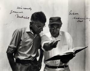 Alan Schneider and Samuel Beckett