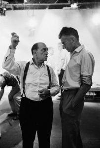 Buster Keaton and Samuel Beckett