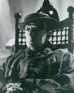Buster Keaton in chair