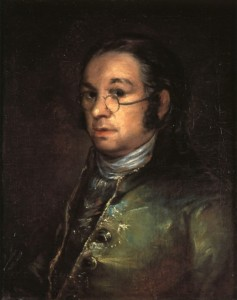 Goya, Self-portrait with spectacles (1797-1800), Goya Museum, Castres