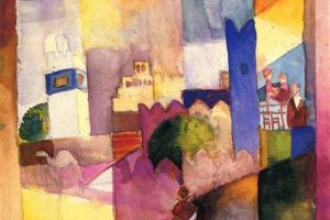 August Macke waters modern art