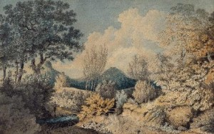 Thomas Jones, The southern extremity of Carnedde Mountain in Radnorshire