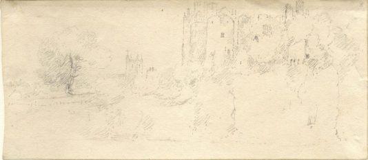 John Sell Cotman, Chepstow Castle 2 (Leeds)