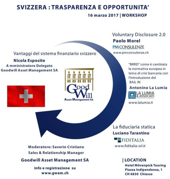 Workshop: Svizzera Trasparenza e opportunita'