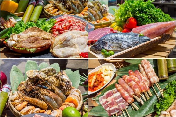 141244643f7ac843aa9a098a826ee282 1 - 熱血採訪 台中最大海鮮超市!泰國蝦超便宜,烤肉串燒通通買的到!