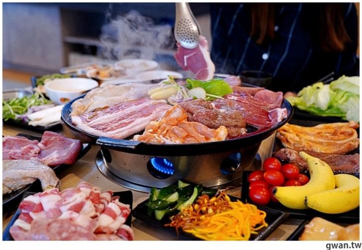 20201215213546 49 - 熱血採訪|台中韓式烤肉吃到飽!烤肉、熱湯、小菜任你吃最低只要369元,周年慶期間還免收服務費~