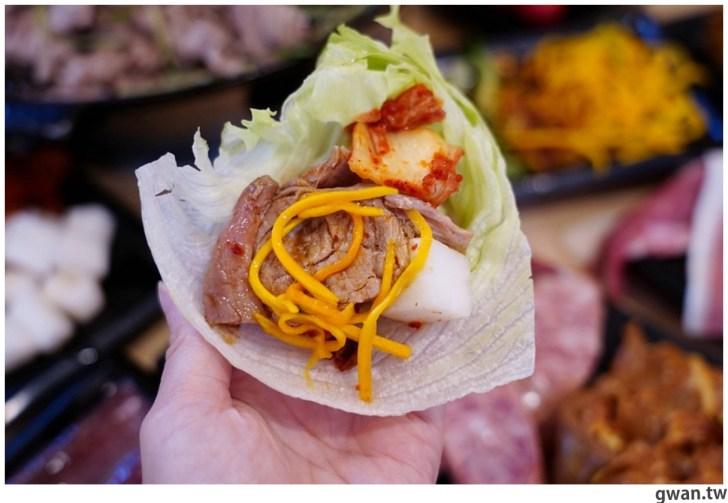 20201215213553 89 - 熱血採訪|台中韓式烤肉吃到飽!烤肉、熱湯、小菜任你吃最低只要369元,周年慶期間還免收服務費~