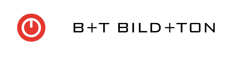 Logo B+T - Bild + Ton