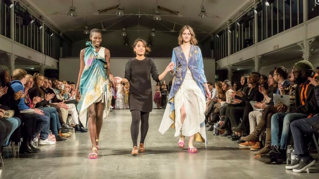 The Gwand Sustainable Fashion cooporation with IFA Paris fashion school
