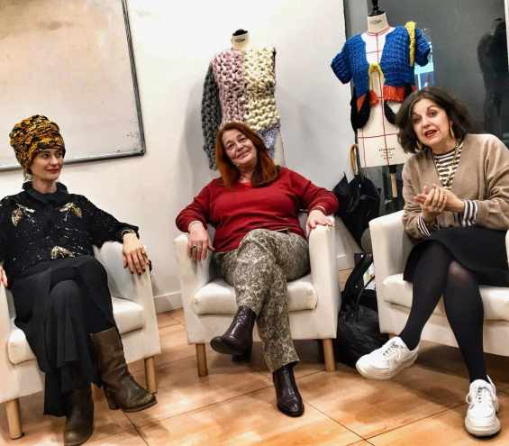 Suzanna Vock Gwand Festival Paris, Catherine Dauriac Fashion Revolution