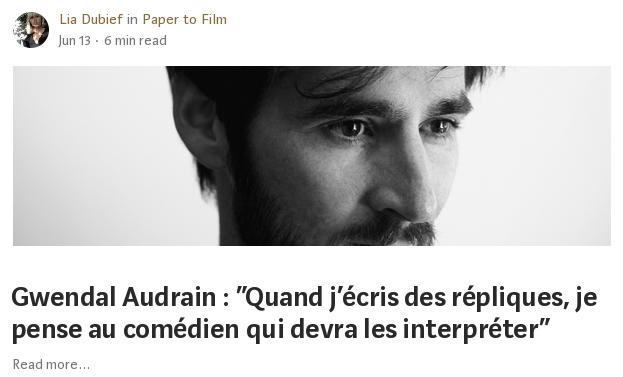 Lien vers l'interview