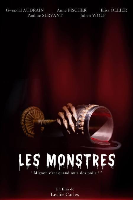 Affiche du court-métrage Les Monsters de leslie Carles avec Gwendal Audrain