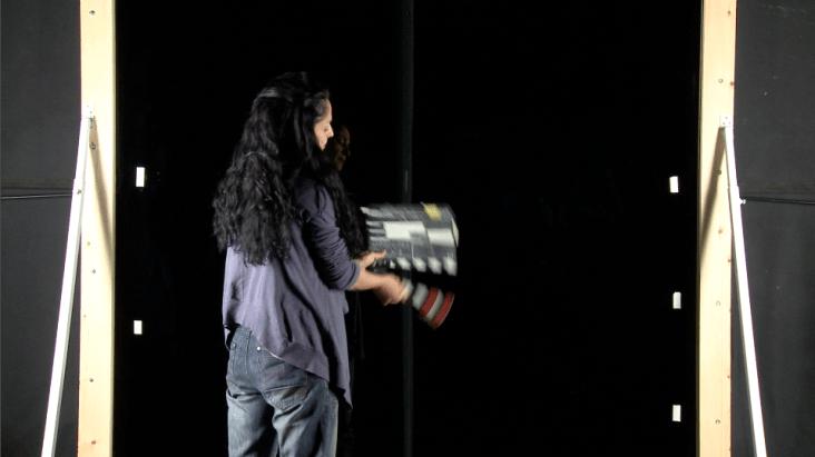 Gwendaline Bachini tournage Fresnoy, studio national des arts contemporains 2013