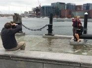 Though observers had fun wading in the water and taking photos, the King Tides are also a startling example of what the future of Boston looks like. Sea levels are expected to rise anywhere from two to six feet in the next 100 years.