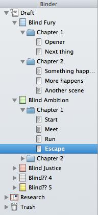 Multi-book Binder example