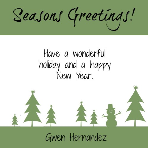 holiday greetings image