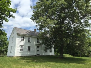 front of thoreau farm house