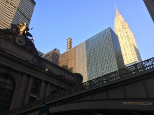 Chrysler building and Grand Central Station