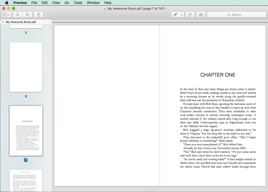 sample PDF pages, chapter 1