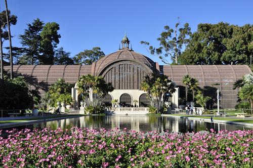 Botanical building at Balboa Park in San Diego