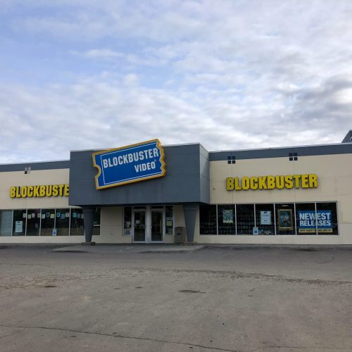 Blockbuster Video storefront