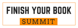 Finish Your Book Summit graphic