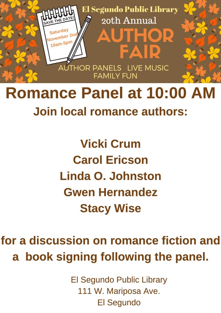 author fair flyer