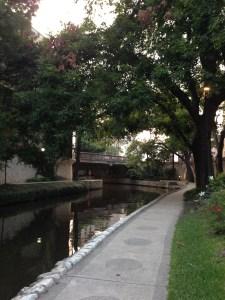 Photo of the San Antonio Riverwalk