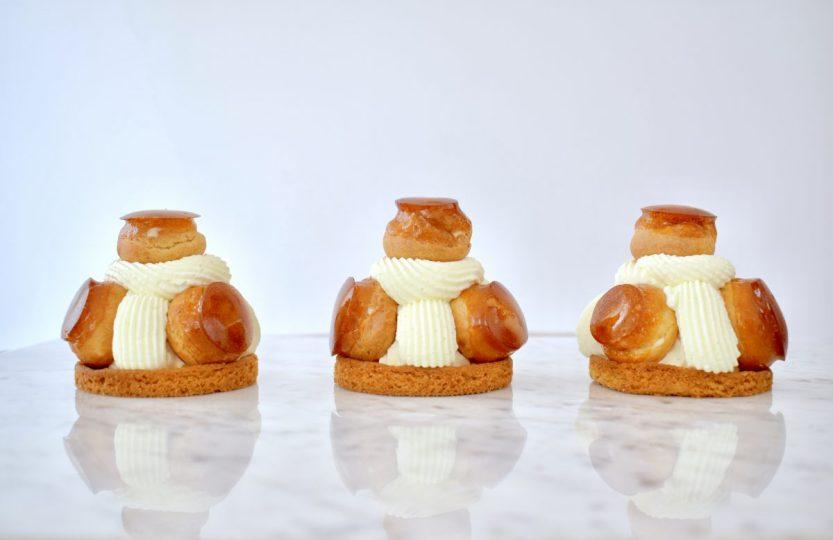 Saint Honoré Karamel - Gwenn's Bakery