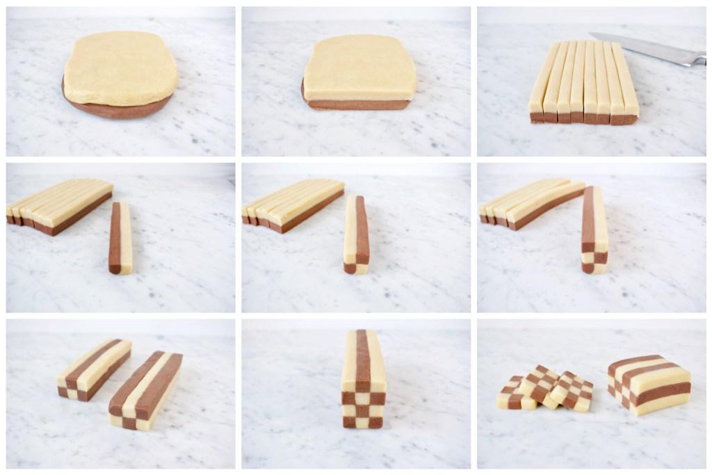 Dambord Koekjes - stap voor stap - Gwenn's Bakery