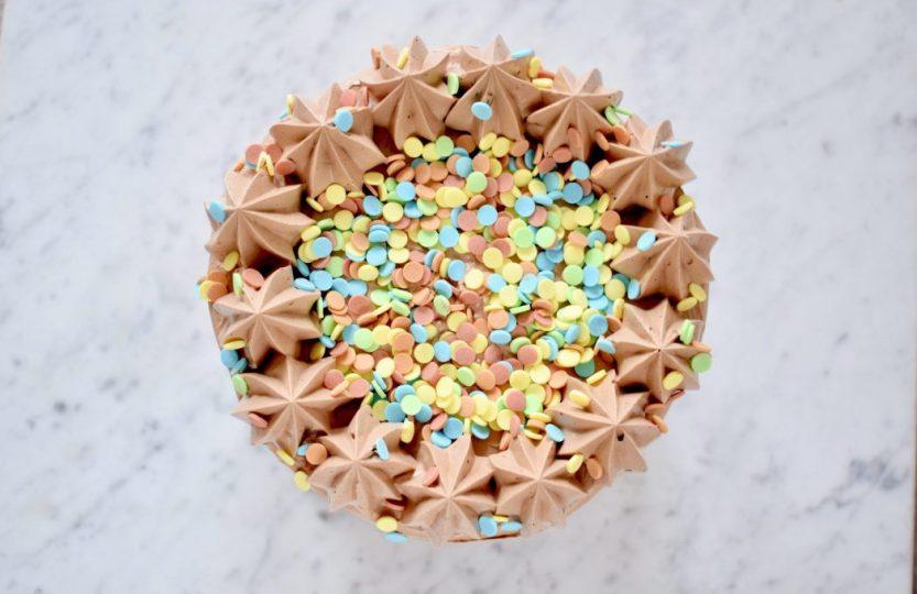 Chocolade laagjestaart - Gwenn's Bakery