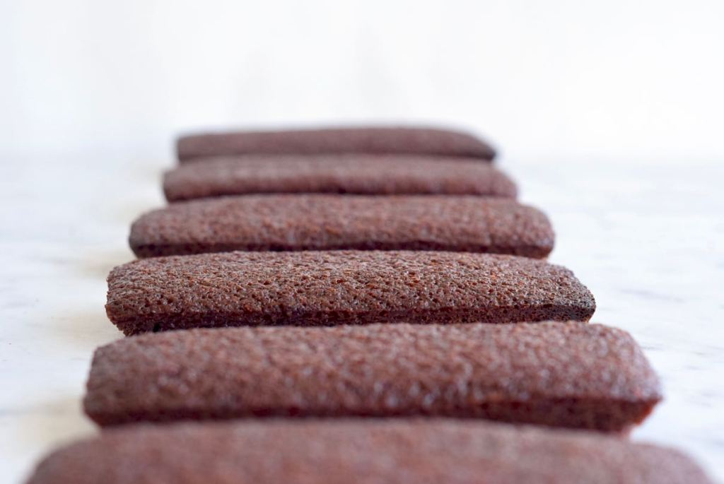 Chocolade Financiers - Gwenn's Bakery