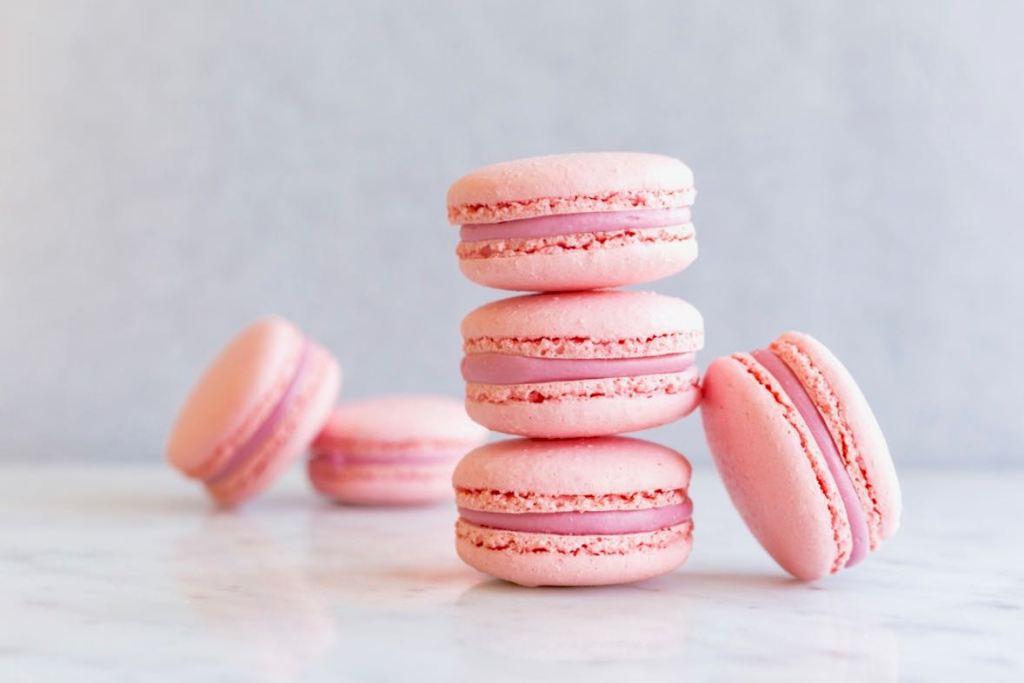 Frambozen macarons - Gwenn's Bakery