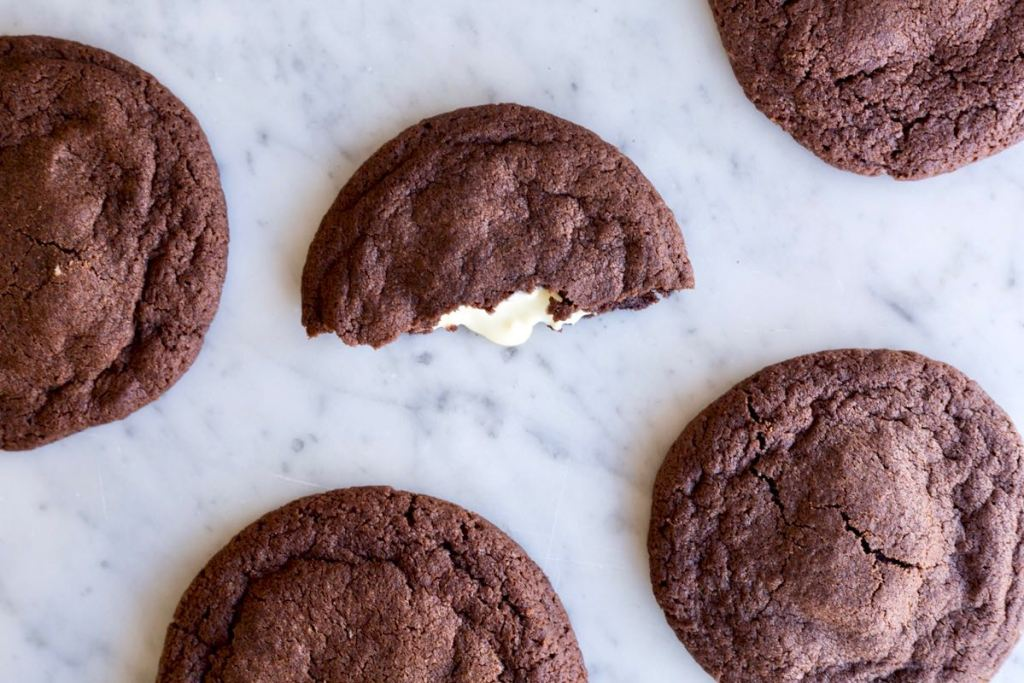 Chocolade cookies met witte chocolade - Gwenn's Bakery