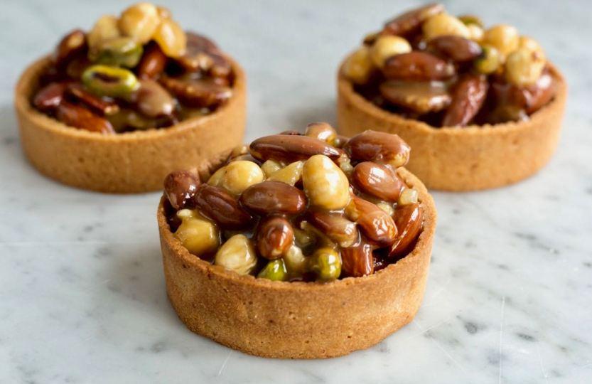 Noten-karameltartelettes - Gwenn's Bakery