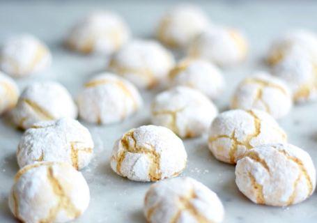 Zachte amaretti koekjes - Gwenn's Bakery