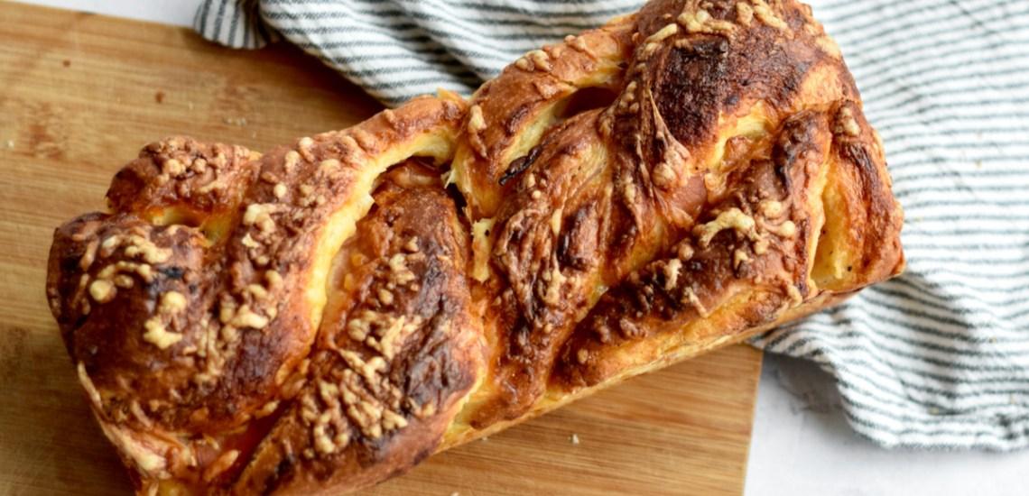 Hartige brioche 'croque monsieur' - Gwenn's Bakery